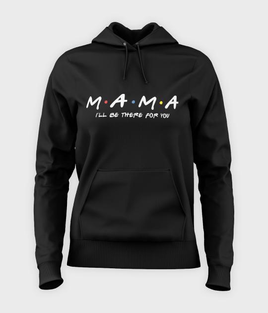 """Bluza damska z kapturem Mama """"Przyjaciele"""""""