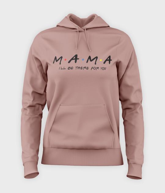 Bluza damska z kapturem Mama Friends
