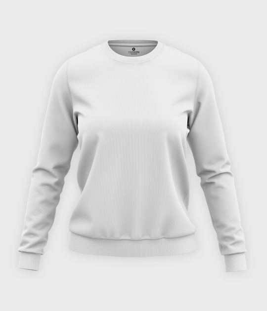 Damska bluza klasyczna (bez nadruku, gładka) - biała