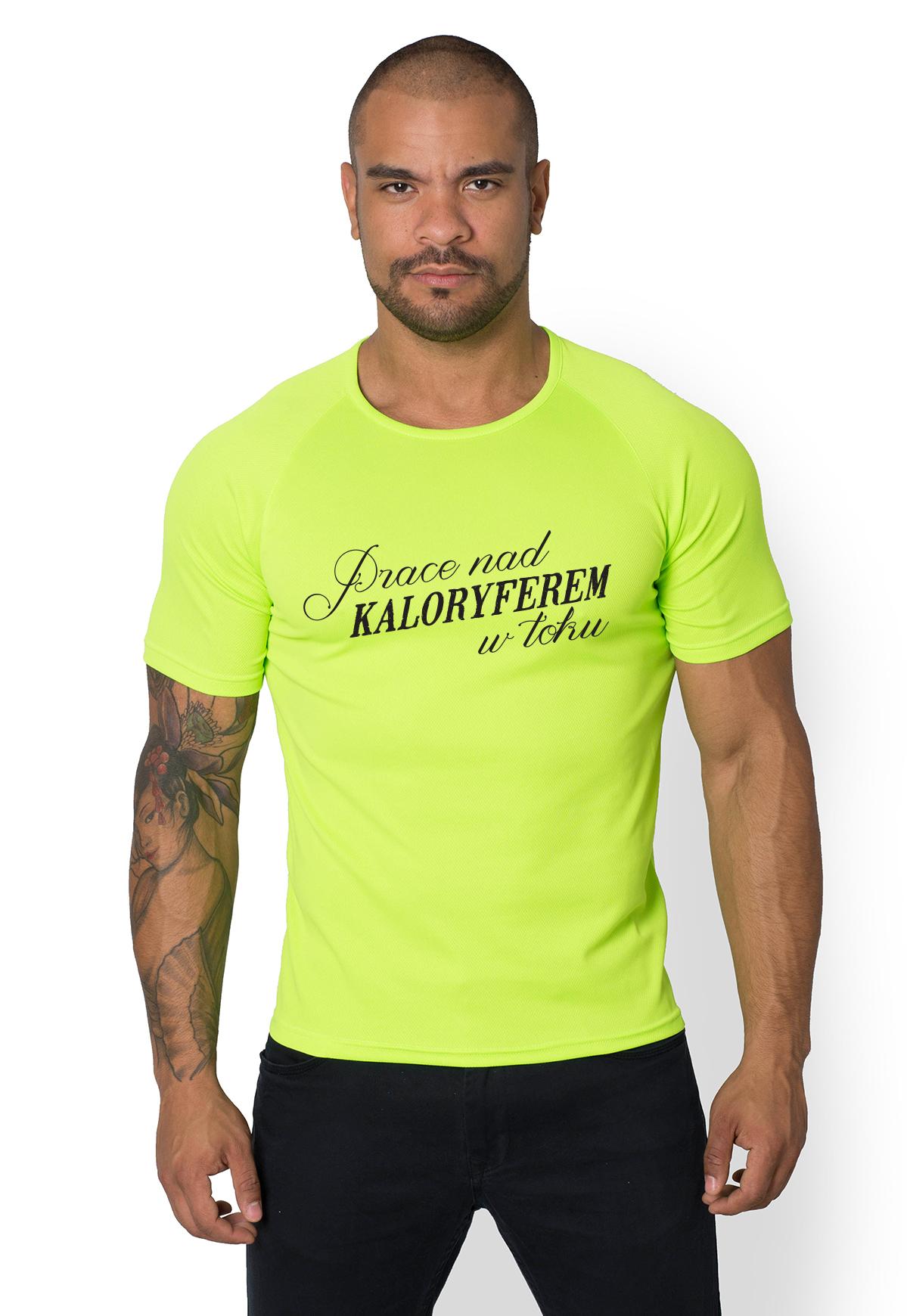 Koszulka sportowa Prace w toku