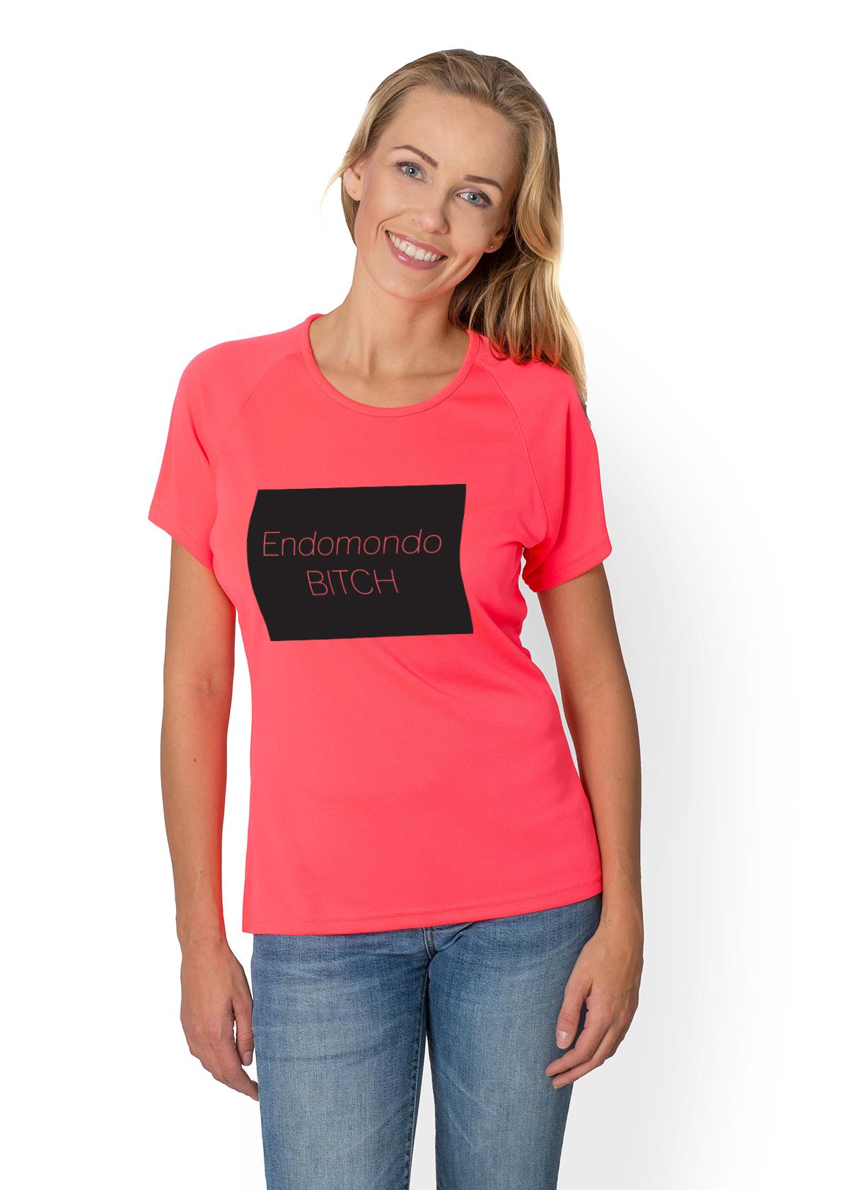Koszulka sportowa Biegam z endo