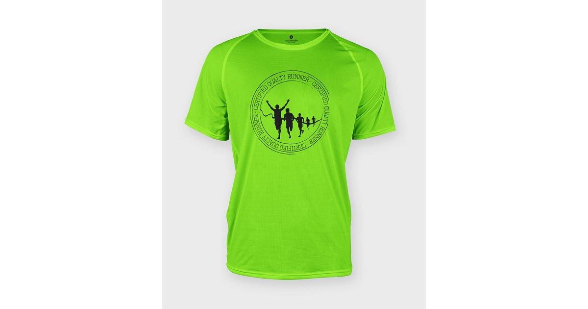 Koszulka sportowa Certified quality runner