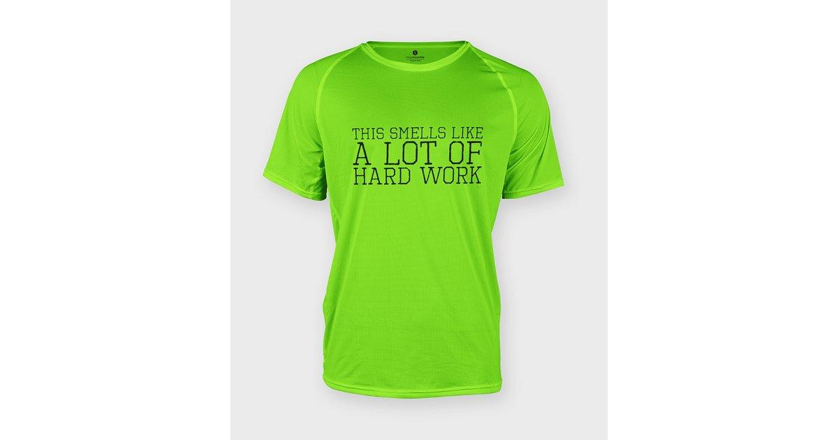 Koszulka sportowa Hard work