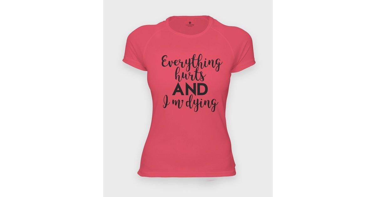 Koszulka sportowa I am dying