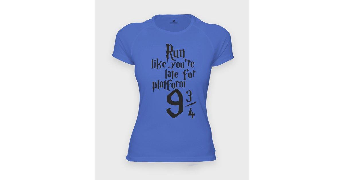 Koszulka sportowa Run like you are late